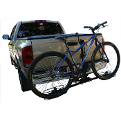 2 Bike Hitch Rack Tire Mount